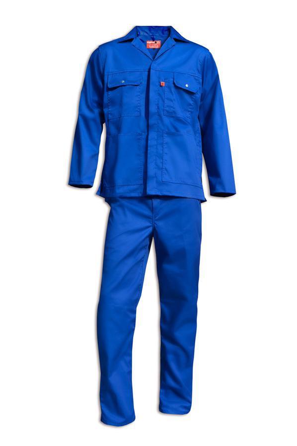 Mammoth Royal Blue Genesis Style Conti Suit Mammoth