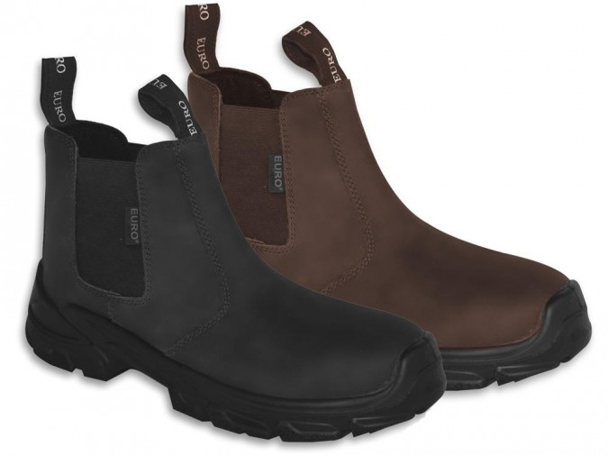 Euro Epic Metal Free Chelsea Boot Euro Safety Footwear